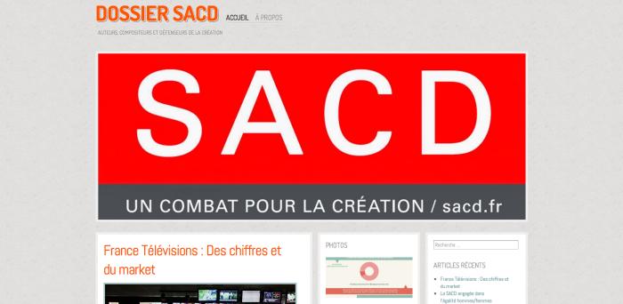 Le Dossier SACD